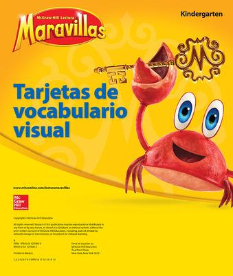 Lectura Maravillas, Grade K, Visual Vocabulary Cards