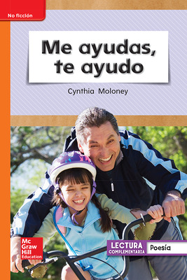 Lectura Maravillas Leveled Reader Me ayudas, te ayudo: Approaching Unit 6 Week 2 Grade 1