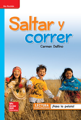 Lectura Maravillas Leveled Reader Saltar y correr Move!: On-Level Unit 1 Week 5 Grade 1