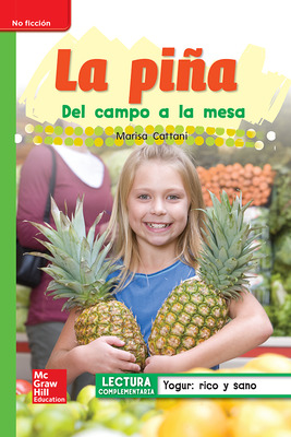 Lectura Maravillas Leveled Reader La piña: Beyond Unit 3 Week 5 Grade 1