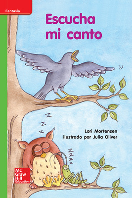Lectura Maravillas Leveled Reader Escucha mi canto: Beyond Unit 10 Week 1 Grade K