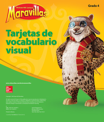 Lectura Maravillas, Grade 4, Visual Vocabulary Cards