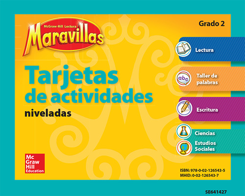 Lectura Maravillas, Grade 2, Workstation Activity Cards Package (4 Cards)