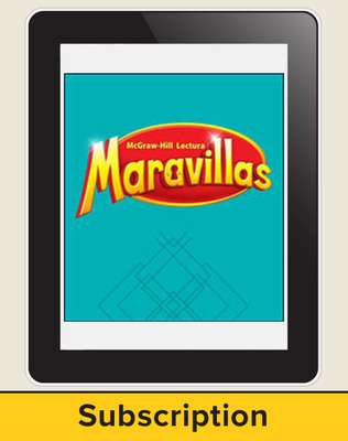 Lectura Maravillas, Grade 2, Online Digital Program 6 Year Subscription