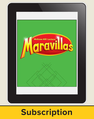 Lectura Maravillas, Grade 4, Online Digital Program 6 Year Subscription, Reading Wonders