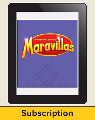 Lectura Maravillas, Grade 5, Online Digital Program, 6 Year Subscription