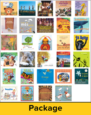 Lectura Maravillas, Grade K, Literature Big Book Package, (32 Books)