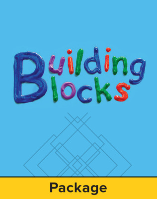 Building Blocks Pre-K, Teacher Package
