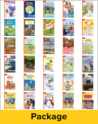 Reading Wonders, Grade 1, Leveled Reader Package 1 Of 30 Approaching