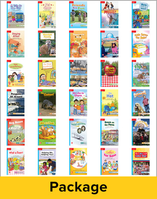 Reading Wonders, Grade 1, Leveled Reader Package 1 Of 30 On-Level
