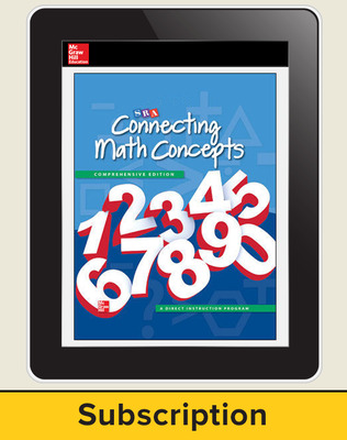 Connecting Math Concepts OnlineTeacher Subscription, 6 Year Subscription