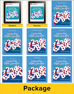 Connecting Math Concepts Level D, Teacher Materials Package