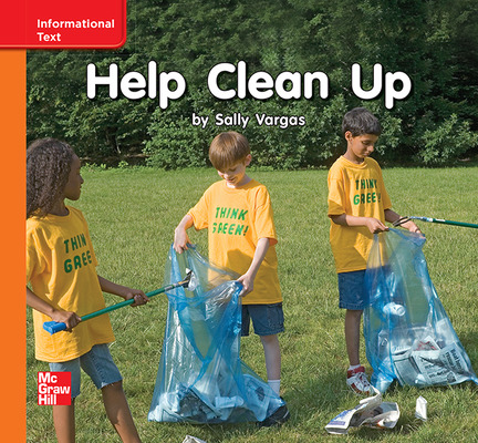 Reading Wonders, Grade K, Leveled Reader Help Clean Up, Approaching, Unit 10, 6-Pack