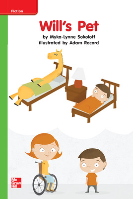 Reading Wonders, Grade K, Leveled Reader Will's Pet, Beyond, Unit 7, 6-Pack