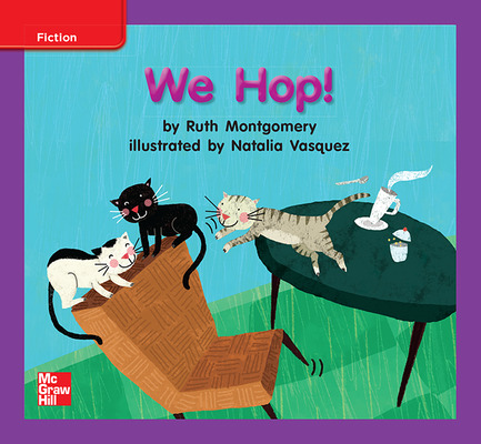 Reading Wonders, Grade K, Leveled Reader We Hop!, ELL, Unit 1, 6-Pack