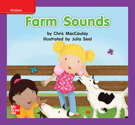 Reading Wonders, Grade K, Leveled Reader Farm Sounds, ELL, Unit 3, 6-Pack