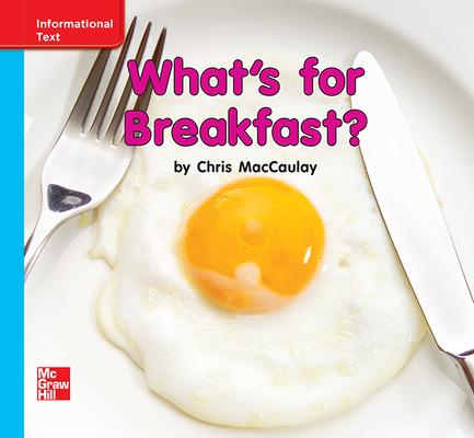 Reading Wonders, Grade K, Leveled Reader What's for Breakfast?, On Level, Unit 9, 6-Pack