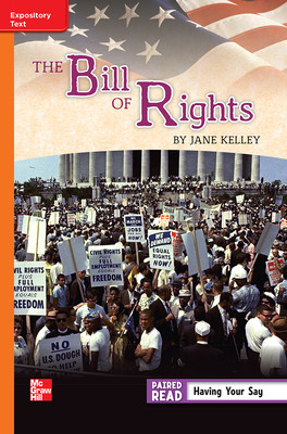 Reading Wonders, Grade 5, Leveled Reader The Bill of Rights, On Level, Unit 2, 6-Pack
