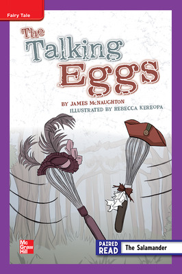 Reading Wonders, Grade 5, Leveled Reader The Talking Eggs, On Level, Unit 2, 6-Pack