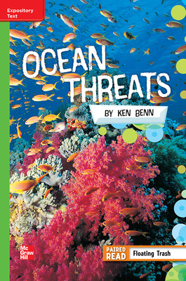 Reading Wonders, Grade 5, Leveled Reader Ocean Threats, On Level, Unit 5, 6-Pack