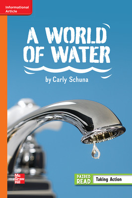 Reading Wonders, Grade 6, Leveled Reader A World of Water, Approaching, Unit 3, 6-Pack