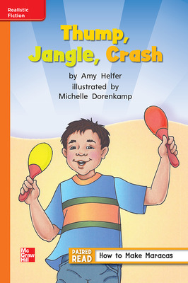 Reading Wonders, Grade 1, Leveled Reader Thump, Jangle, Crash, Approaching, Unit 5, 6-Pack