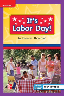 Reading Wonders, Grade 1, Leveled Reader It's Labor Day!, Approaching, Unit 6, 6-Pack
