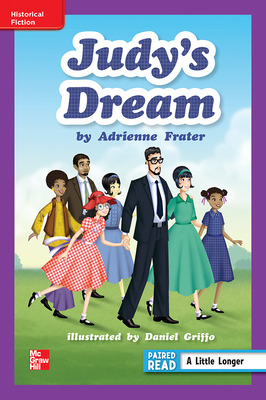 Reading Wonders, Grade 6, Leveled Reader Judy's Dream, ELL, Unit 1, 6-Pack