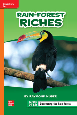 Reading Wonders, Grade 6, Leveled Reader Rain-Forest Riches, On Level, Unit 1, 6-Pack