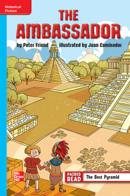 Reading Wonders, Grade 6, Leveled Reader The Ambassador, On Level, Unit 2, 6-Pack