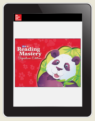 Reading Mastery Online 5 Year Teacher Subscription