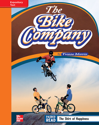 Reading Wonders, Grade 4, Leveled Reader The Bike Company, Approaching, Unit 6, 6-Pack