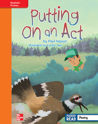 Reading Wonders, Grade 4, Leveled Reader Putting on an Act, Approaching, Unit 2, 6-Pack