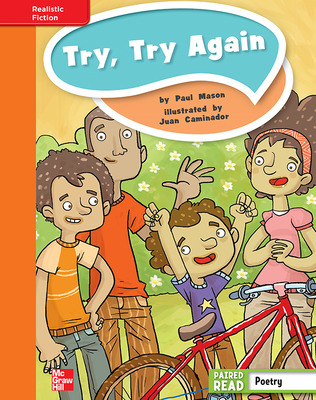 Reading Wonders, Grade 4, Leveled Reader Try, Try Again, Approaching, Unit 4, 6-Pack