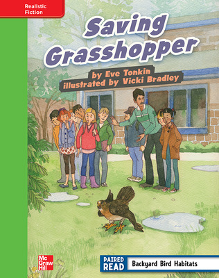Reading Wonders, Grade 4, Leveled Reader Saving Grasshopper, Beyond, Unit 1, 6-Pack