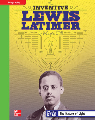 Reading Wonders, Grade 4, Leveled Reader Inventive Lewis Latimer, Beyond, Unit 5, 6-Pack