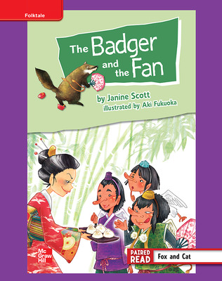 Reading Wonders, Grade 4, Leveled Reader The Badger and the Fan, ELL, Unit 2, 6-Pack