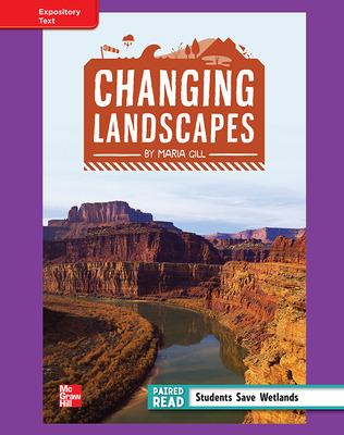 Reading Wonders, Grade 4, Leveled Reader Changing Landscapes, ELL, Unit 1, 6-Pack