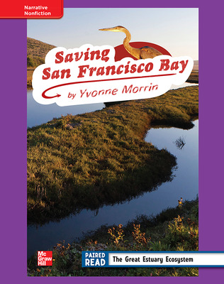 Reading Wonders, Grade 4, Leveled Reader Saving San Francisco Bay, ELL, Unit 2, 6-Pack
