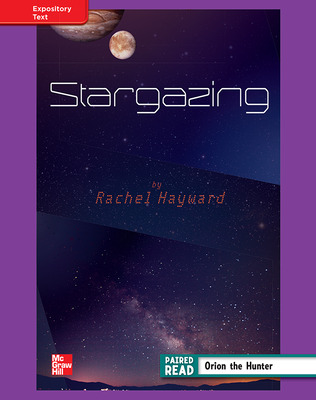 Reading Wonders, Grade 4, Leveled Reader Stargazing, ELL, Unit 4, 6-Pack