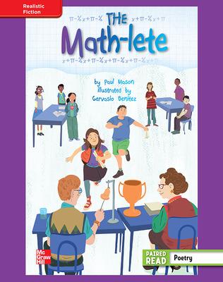 Reading Wonders, Grade 4, Leveled Reader The Math-lete, ELL, Unit 4, 6-Pack