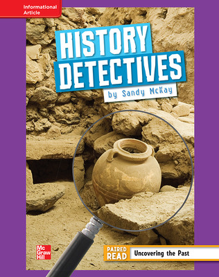 Reading Wonders, Grade 4, Leveled Reader History Detectives, ELL, Unit 5, 6-Pack