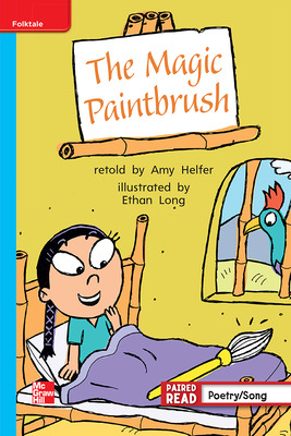 Reading Wonders, Grade 1, Leveled Reader The Magic Paintbrush, On Level, Unit 3, 6-Pack