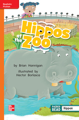 Reading Wonders, Grade 2, Leveled Reader Hippos at the Zoo, Approaching, Unit 2, 6-Pack
