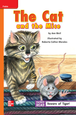 Reading Wonders, Grade 2, Leveled Reader The Cat and the Mice, Approaching, Unit 2, 6-Pack