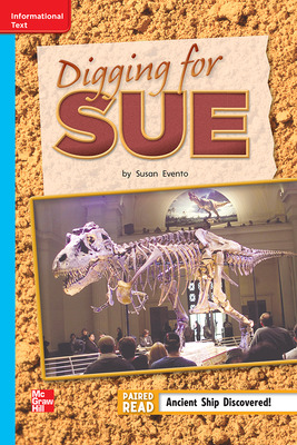 Reading Wonders, Grade 2, Leveled Reader Digging for Sue, Approaching, Unit 6, 6-Pack