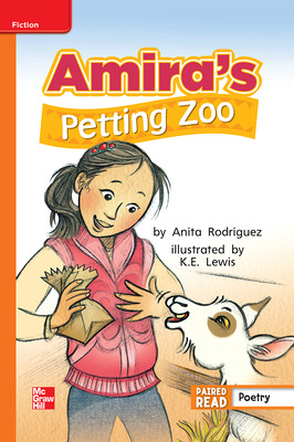 Reading Wonders, Grade 2, Leveled Reader Amira's Petting Zoo, Approaching, Unit 2, 6-Pack
