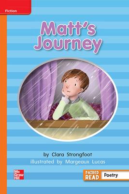 Reading Wonders, Grade 2, Leveled Reader Matt's Journey, Approaching, Unit 6, 6-Pack