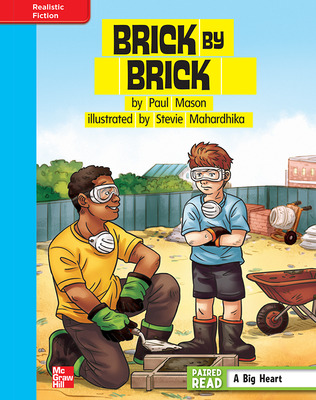 Reading Wonders, Grade 4, Leveled Reader Brick by Brick, On Level, Unit 3, 6-Pack