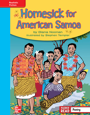 Reading Wonders, Grade 4, Leveled Reader Homesick for American Samoa, On Level, Unit 6, 6-Pack